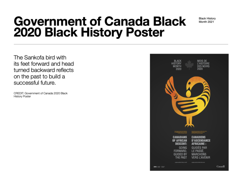 BHM-Government of Canada Poster, 2020